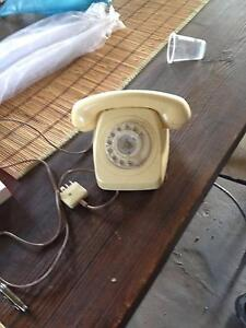 OLD PHONE WHITE Bexley North Rockdale Area Preview