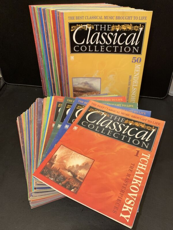The Classical Collection Magazines 1-94 Classical Music