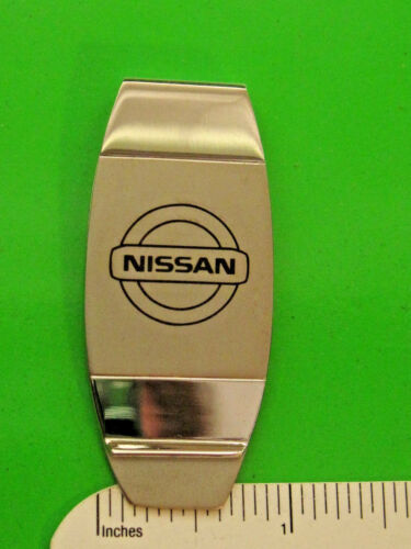 NISSAN emblem  logo -  money clip ORIGINAL BOX