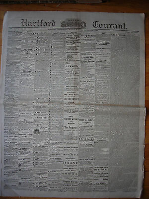 Hartford Daily Courant  Ct  Newspaper  Sept 1  1873  Chinese Secret Societies