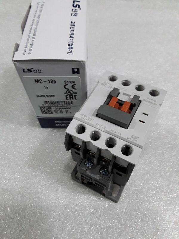 MC-018a/3-120 LS Metasol Contactor SCREW 3P 40A Coil 120V UL NEW IN BOX!