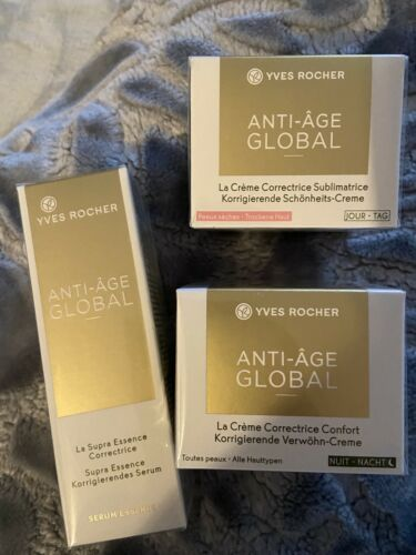 Yves Rocher Gesichts Anti Falten Paket Neu Ovp