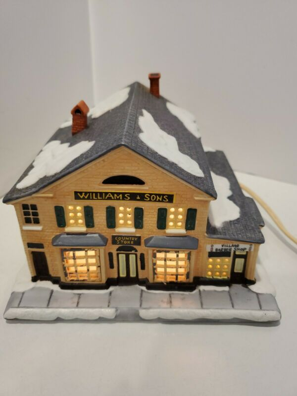 "Hawthorne ""The Counrty Store""Norman Rockwells Christmas in Stockbridge Village"