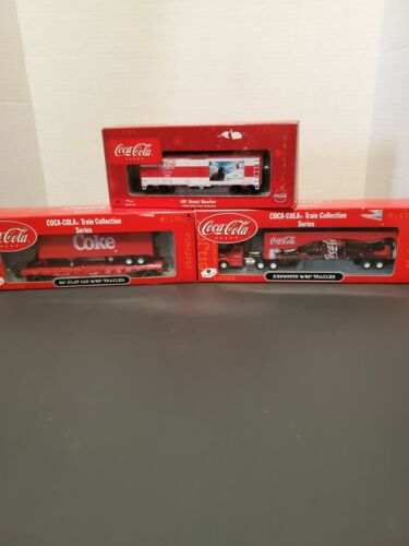 coca cola train collection series