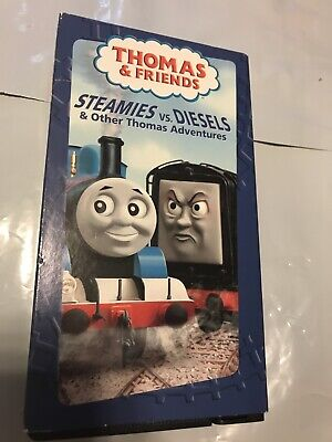 Thomas the Tank Engine - Steamies vs. Diesels Other Thomas Adventures (VHS,...