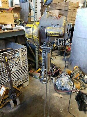 Budgit Electric Chain Hoist 14 Ton 115v 500 Lbs Vintage