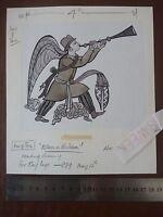 Islam In Britain Circ 1970 - Accomplished Study 190x190mm On Board . Pen & Ink O -  - ebay.co.uk