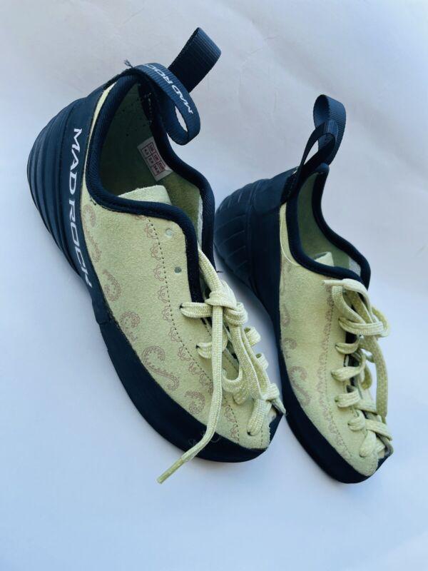 Mad Rock Banshee Climbing Kids Shoes Sz 4.5