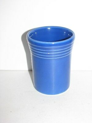 Fiestaware, drink glass, Juice Tumbler, Fiesta, Sapphire Blue, Very Nice (Blue Juice Drink)