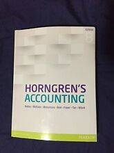 Horngren's Accounting (Edition 8) - With e-textbook Bunya Brisbane North West Preview