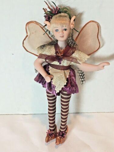 "8"" Winged Fairy, Elf Ornament"