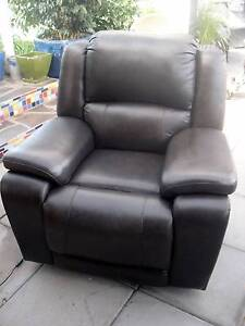 Leather Recliner Chair - New condition Goolwa South Alexandrina Area Preview