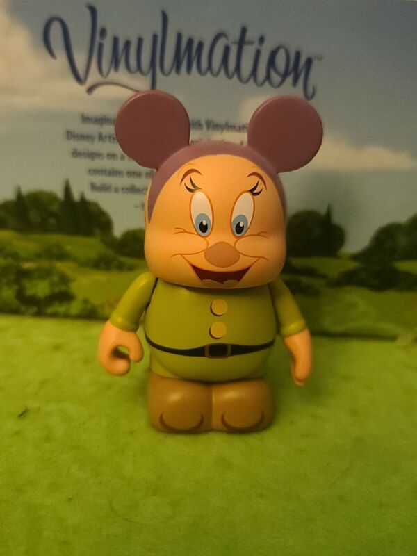 "DISNEY Vinylmation 3"" Park Set 2 Animation Dopey Seven Dwarves"