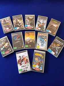 SONY PSP GAMES Acton Park Clarence Area Preview