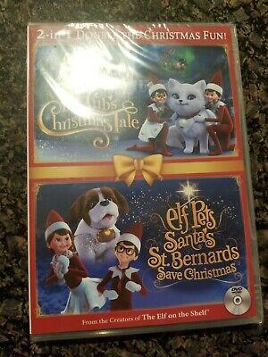 Elf on the Shelf Elf Pets Fox Cub's Christmas Tale & Santa's St. Bernards Save C
