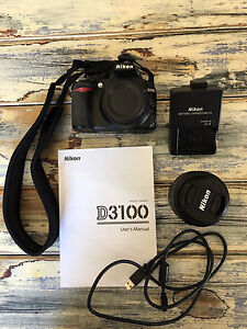 Nikon D3100 camera body, charger and 18-55mm lens Deloraine Meander Valley Preview