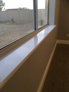 Window Sills - Pre Spray-painted and installed