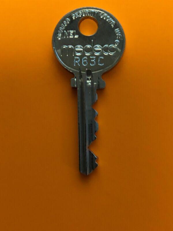 Medeco Elevator Key R63C Mk