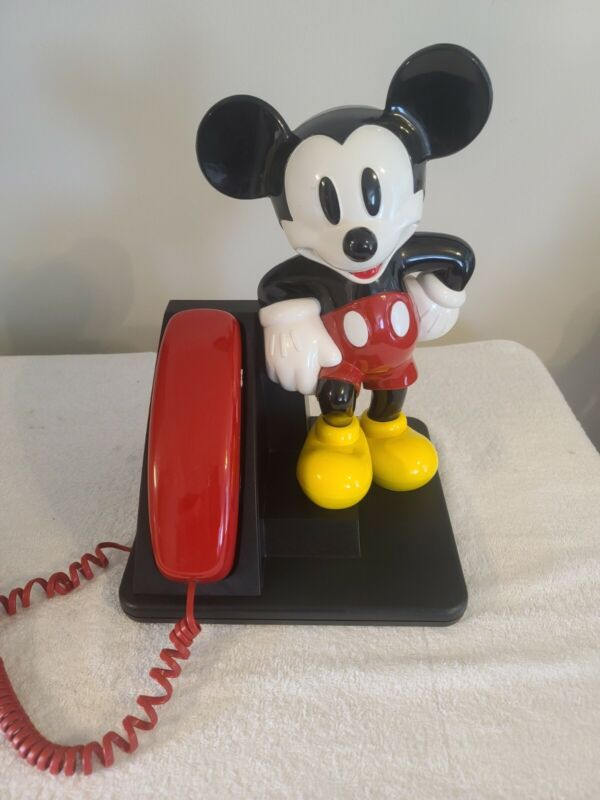 Collectable Disney Mickey Mouse Design Line AT&T land line touch tone telephone