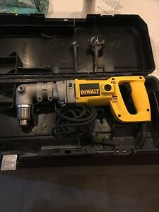 Dewalt right angle drill 1/2""
