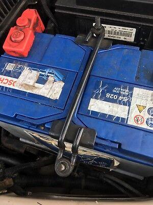 Kia Sedona Mk2 2001 to 2006 Battery Clamp all 3 parts