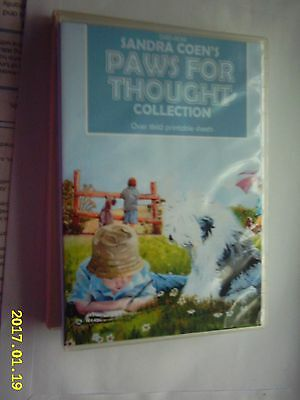 SANDRA COEN'S PAWS FOR THOUGHT COLLECTION CD ROM