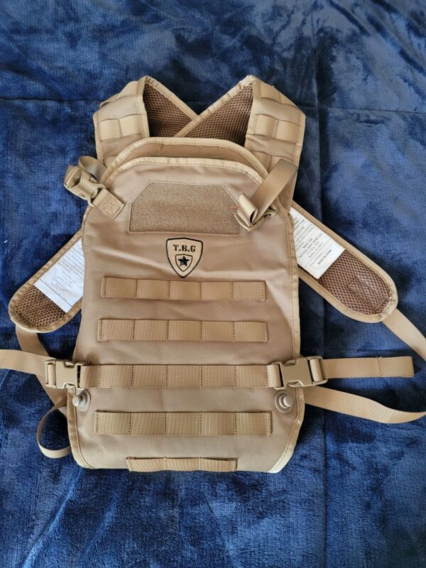 TBG Tactical Baby Gear MOLLE Tactical Baby Carrier Coyote Brown *Great Condition