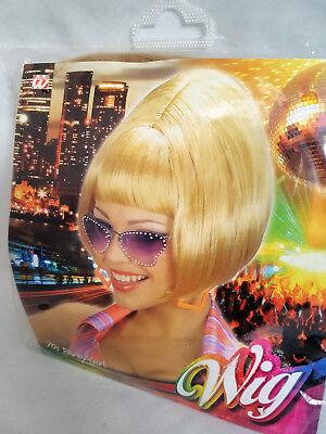 1  Perücke70er Jahre Stil blond Party Girl Karneval Fasching  Perücken