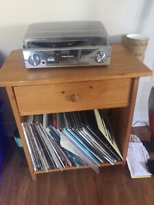 Records/Record Player/Record Holder Stand