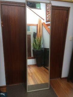 Mirror roller door