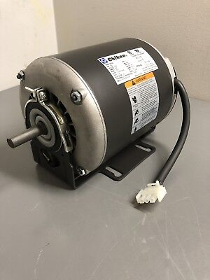 New Electric Motor 13hp 115vac 1725rpm 1-ph 60hz 48y Frame Odp. Skid
