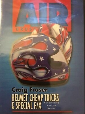 Helmet Cheap Tricks & Special F/X Airbrush Paint DVD Craig Fraser Airbrush - Airbrush Paint Dvd