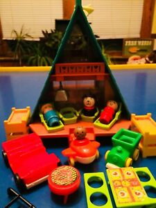 Vintage Fisher Price A-frame Toy