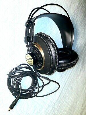 AKG K240 K 240 Studio moniter Semi-open Professional over-ear Headphones READ