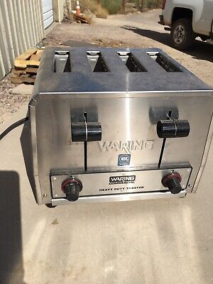 Waring Wct800rc Heavy Duty 4 Slice Commercial Toaster 120v Never Used