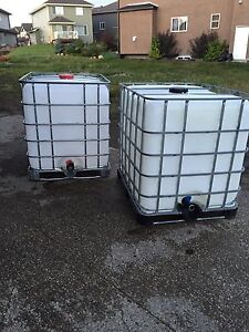 1000 L / CLEAN WATER ONLY TANKS