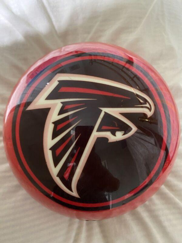 Atlanta Falcon Bowling Ball & Bowling Pins