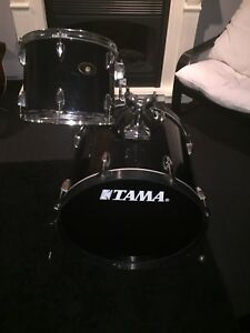 "22"" Tama Bass drum and 12"" Tom."