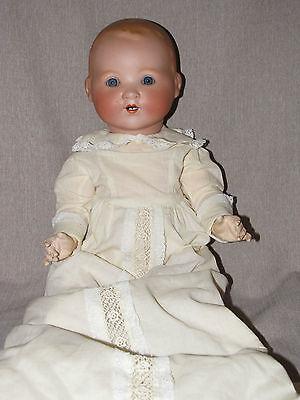"18"" Antique Armand Marseille AM Baby Doll 351 6K Bisque Head Composition Body"