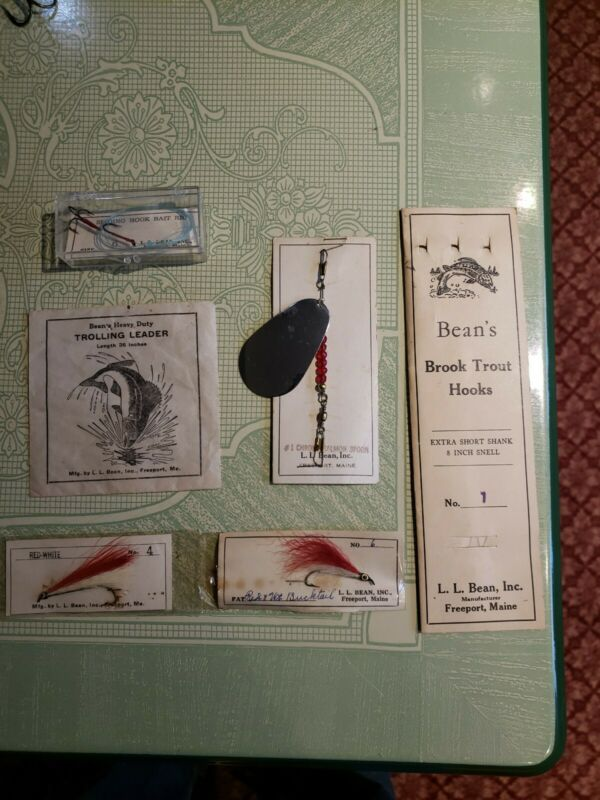 L L Bean Fishing Items