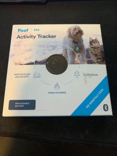 Pet Poof Activity Tracker Cat Dog Monitors Activity Sleep Open Box - $10.00