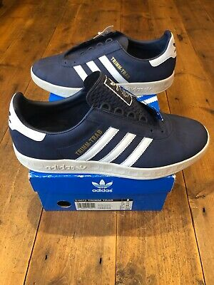 Adidas TRIMM TRAB Navy blue 2005 deadstock uk 11Koln Dublin Spzl carlos london