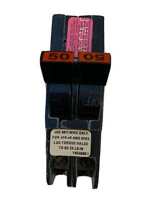 NEW FPE NC050  Thin Stab-Lok Circuit Breaker 50A