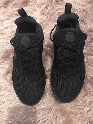 Nike Presto Fly Size 4.5 Trainers Black