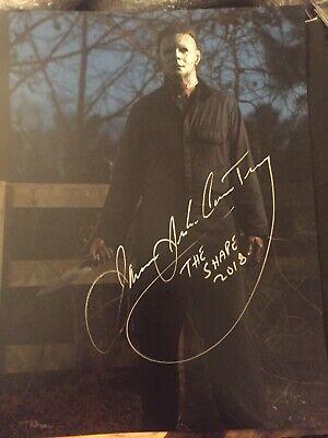 HALLOWEEN james Jude Courtney Michael Myers signed 11x14 photo