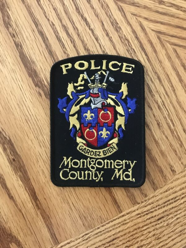 Montgomery County Maryland Police Shoulder Patch