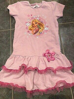 Disney Kleid Mädchen pink Rapunzel neu verföhnt Stickerei - Disney Rapunzel Kleid