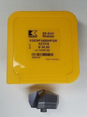 Ksemp3400hpgm Kc7315 34.0 Mm Kennametal Drill Insert