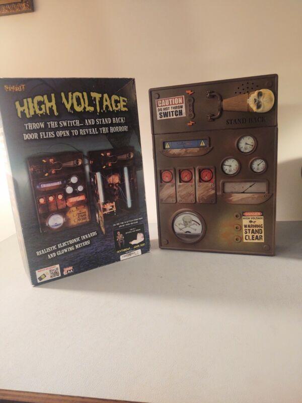 High voltage switch spirit Halloween AS IS prop