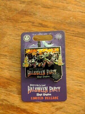 Halloween Party Logo (Disney Pin Mickeys Not So Scary Halloween Party 2019 Logo Limited Release)
